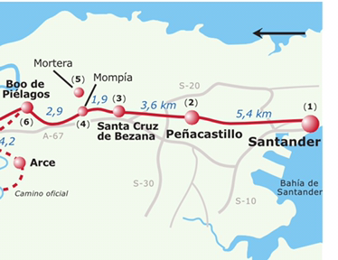 13ª Tappa – da Santander a Boo dePiélagos